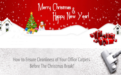 How to Ensure Cleanliness of Your Office Carpets Before The Christmas Break?