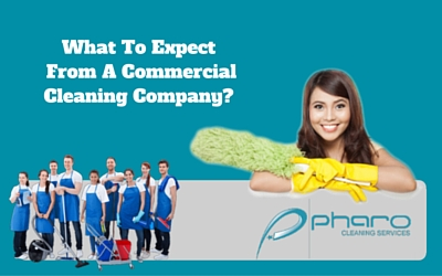 What To Expect From A Commercial Cleaning Company?