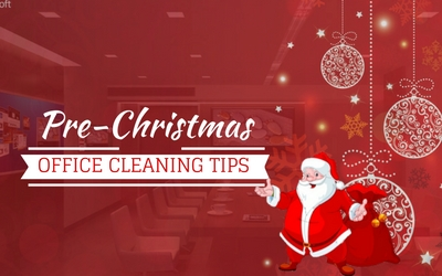 Pre-Christmas Office Cleaning Tips