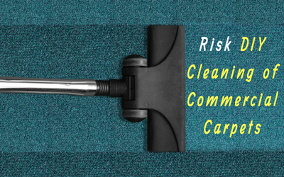 Risks of Performing DIY Cleaning of Commercial Carpets