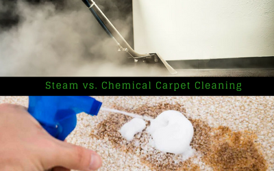 Steam vs. Chemical Carpet Cleaning