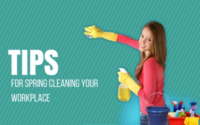 Tips For Spring Cleaning Your Workplace