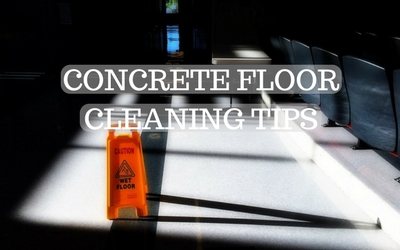Cleaning Tips For Concrete Floors