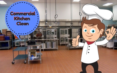 How To Keep Commercial Kitchens Clean?